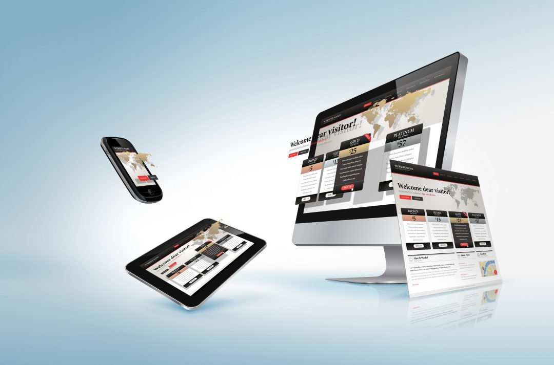 Web design concept for promotion, banner, advertising